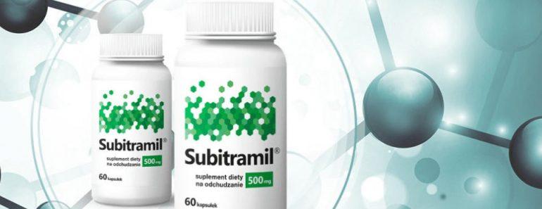 tabletki na odchudzanie Subitramil opinie oraz efekty, cena i skład
