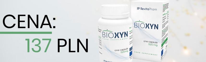 Jaka cena Bioxyn