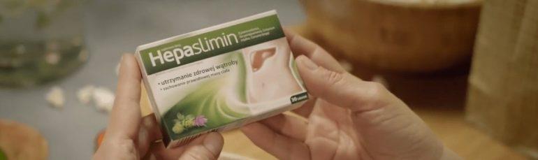 Hepaslimin - kadr z reklamy tv
