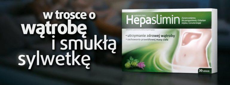 Hepaslimin - suplement diety